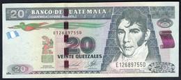 Guatemala - 20 Quetzales 2014 - P124d - Guatemala