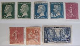 LOT FD/1974 - LOT DIVERS - 1902/1939 - NEUFS* - Cote : 48,85 € - Unused Stamps