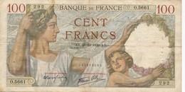 H138 - Billet 100 Francs Type Sully 1939 - 1871-1952 Anciens Francs Circulés Au XXème