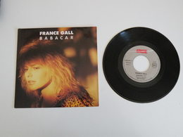 France Gall - Babacar - C'est Bon Que Tu Sois Là (1987) - (Vinyle 45 T) Apache - Rock