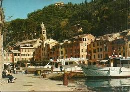 Portofino (Genova) Scorcio Dell'Antico Borgo E Del Porticciolo, Partial View, Coin - Genova (Genua)