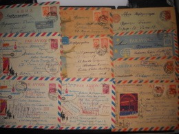 Urss , Lot De 25 Entiers Postaux - 1923-1991 URSS