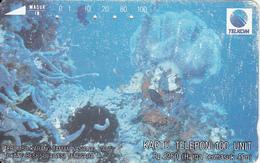 INDONESIA - Underwater Life 6(2nd Series), Used - Indonesia