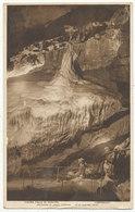 Niagra Falls In Winter, Cheddar, 1947 Postcard - Cheddar