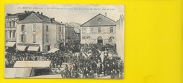 RUFFEC La Halle Aux Grains Jour De Foire (Berdon) Charente (16) - Ruffec