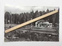 GENAPPE-TANGISSART-BAISY-THY»CHALET ARDENNAIS «panorama,Publicité Shell,(Édit A.SMETZ )photo Véritable 68756 / 1163. - Genappe