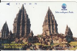 INDONESIA - Candi Prambanan/Jawa Tengah, 07/96, Used - Indonesia