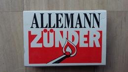 Zündholzschachtel Mit Firmenwerbung (ALLEMANN GmbH; Deutschland) - Zündholzschachteln