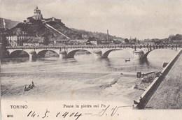 TORINO - Ponte In Pietra Sul Po - Bridges
