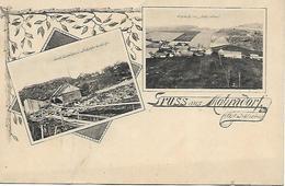 1895/1905 - VITKOV, ZALUZNE, Okres OPAVA, Gute Zustand, 2 Scan - Czech Republic