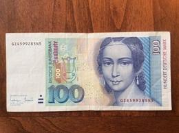 GERMANY 100 MARK 02/01/1996 - 100 Deutsche Mark