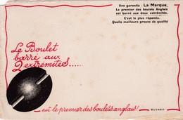 CHARBON / LE BOULET BARRE AUX DEUX EXTREMITES / RARE - Blotters