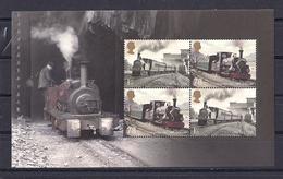 Grande-Bretagne 2014 Feuille Prestige Book (Pane) DY9  Chemin De Fer Locomotives  ** - 1952-.... (Elisabetta II)
