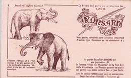 COLLECTION CAHIERS RONSARD / N 4 / ELEPHANTS - Bambini