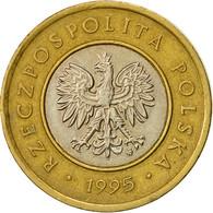 Pologne, 2 Zlote, 1995, Warsaw, TTB, Bi-Metallic, KM:283 - Polonia