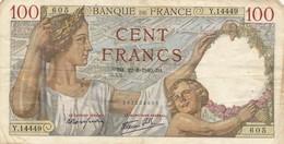 H139 - Billet 100 Francs Type Sully 1940 - 1871-1952 Anciens Francs Circulés Au XXème