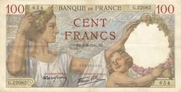 H139 - Billet 100 Francs Type Sully 1941 - 1871-1952 Anciens Francs Circulés Au XXème