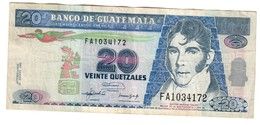 Guatemala 10 Quetzales 12/08/1992 - Guatemala