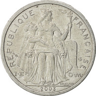 Nouvelle-Calédonie, 2 Francs, 2003, Paris, TTB, Aluminium, KM:14 - New Caledonia