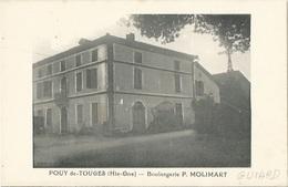 31 CPA POUY DE TOUGES - Boulangerie P. MOLIMART - France