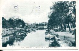 N°62116 -cpa Nantes -l'Erdre Vue Du Pont St Mihiel- - Nantes