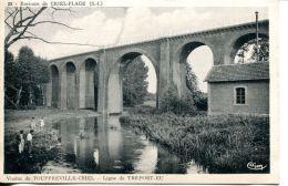 N°62120 -cpa Touffreville Criel -ligne De Tréport Eu- - Criel Sur Mer