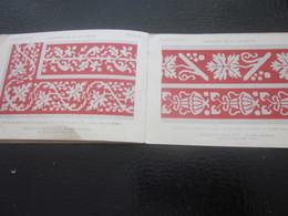 1889 Alphabet Broderie Album Ouvrage Dame DOLFUS Loisirs Créatifs-Guipure-Scrapbooking-Point De Croix-Dessin-Modèles DMC - Scrapbooking