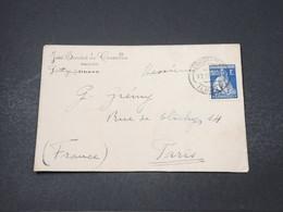 PORTUGAL - Enveloppe Commerciale De Ilhavo Pour Paris - L 16849 - 1910-... République