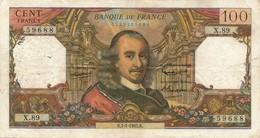 H139 - Billet 100 Francs Type Corneille 1965 - 1962-1997 ''Francs''