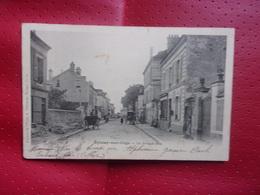 EPINAY SUR ORGE   LA GRANDE RUE EN 1903 - Epinay-sur-Orge