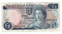 Jersey 1 Pound 1976-1988 Sign 3 Pick 11B *V* - Jersey