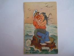 Humour Illustration Marin Sirène Zeemeermin Matroos Mermaid -Vous Ne Trouvez Pas Mademoiselle Que ça Sent Le Poisson?M.D - Humour