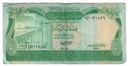 Libya 1/2 Dinar 1981 *V* - Libia