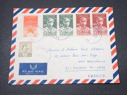 TURQUIE - Enveloppe De Istanbul Pour La France - L 16854 - Brieven En Documenten