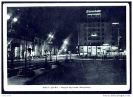 NOVI LIGURE ( Alessandria ) PIAZZA STAZIONE - Pubbl. PERNIGOTTI TORRONE CIOCCOLATO - Italia