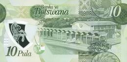 BOTSWANA P. NEW 10 P 2018 UNC - Botswana