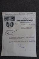 Facture Ancienne - LABASTIDE ROUAIROUX , Manufacture D'Engrais, PHALIPPOU,  Père Et Fils - Agriculture
