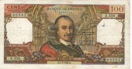 H139 - Billet 100 Francs Type Corneille 1968 - 1962-1997 ''Francs''