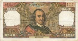 H139 - Billet 100 Francs Type Corneille 1971 - 1962-1997 ''Francs''