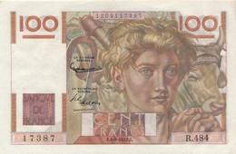 H139 - Billet 100 Francs Type Jeune Paysan 1952 - 1871-1952 Antichi Franchi Circolanti Nel XX Secolo