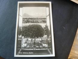 "ANCIENT NEW SMALL POSTCARD OF GENEVE ""HOTEL BELLEVUE"" 9 X 14 Cm.BELLA CARTOLINA DELL'HOTEL DI GINEVRA - GE Genève"