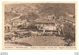 CALDIROLA ( Alessandria ) PENSIONE GIOIA - SOGGIORNO ESTIVO INVERNALE - PROPRIETARIO CHIAPPANO - Italia