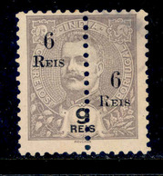 ! ! Portuguese India - 1911 D. Carlos (Perforated) - Af. 221 - NGAI - India Portoghese