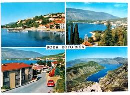 #268   Bay Of Kotor  MONTENEGRO - Views Of The  Bay On Adriatic Sea - Used, Stamp - Montenegro