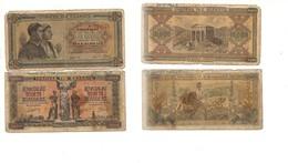 2139) GRECIA CARTAMONETA ANTICA 2 DIVERSE 1942 APAXMAI 5000 E 10000 - Grecia