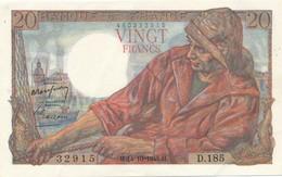 H139 - Billet 20 Francs Type Pêcheur 1948 - 1871-1952 Antichi Franchi Circolanti Nel XX Secolo