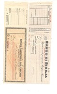 2140) ASSEGNO BANCO DI SICILIA E NAZIONALE DEL LAVORO 2 Nuovi - Coins & Banknotes