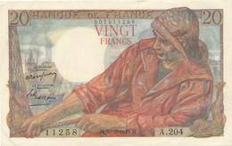 H139 - Billet 20 Francs Type Pêcheur 1949 - 1871-1952 Antichi Franchi Circolanti Nel XX Secolo
