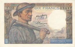 H139 - Billet 20 Francs Type Mineur 1947 - 1871-1952 Antichi Franchi Circolanti Nel XX Secolo
