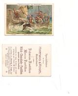 2141) Figurina Cartonata HARTWIG & VOEL BODENBACH CHOCOLATE TELL AUSTRIA LITO - Cioccolato